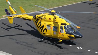 D-HMUS - MBB BK117 - ADAC Luftrettung