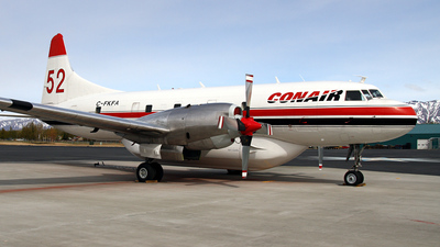 C-FKFA - Convair CV-580 - Conair Aviation