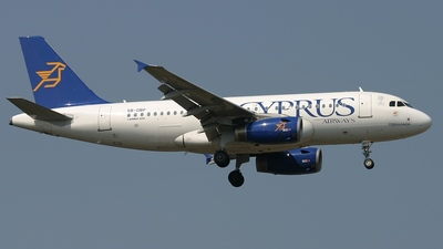 5B-DBP - Airbus A319-132 - Cyprus Airways