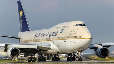 HZ-AIX - Boeing 747-468 - Saudi Arabian Airlines