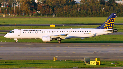 D-AEMD - Embraer 190-200LR - Augsburg Airways