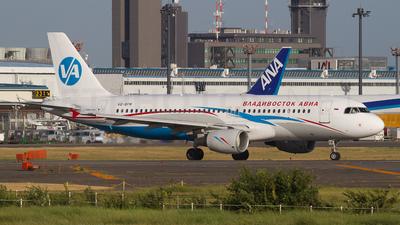 VQ-BFM - Airbus A320-214 - Vladivostok Air