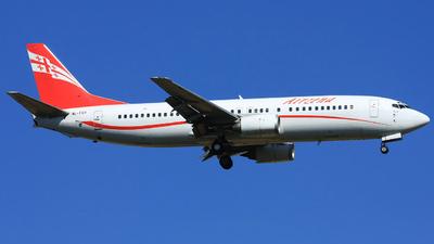 4L-TGT - Boeing 737-4Q8 - Georgian Airways