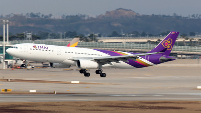 HS-TBF - Airbus A330-343 - Thai Airways International