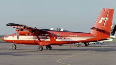 VP-FAQ - De Havilland Canada DHC-6-300 Twin Otter - Jersey European Airways
