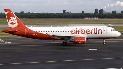 D-ALTC - Airbus A320-214 - Air Berlin (LTU)