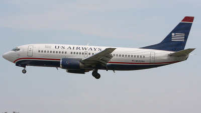 N532AU - Boeing 737-3B7 - US Airways