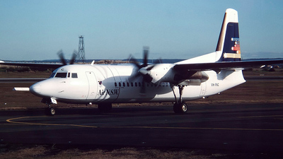 VH-FNC - Fokker 50 - Air New South Wales