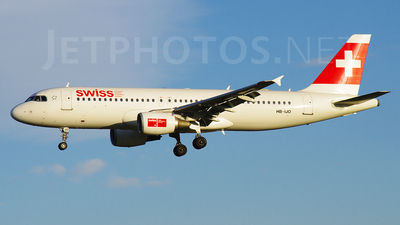 HB-IJO - Airbus A320-214 - Swiss