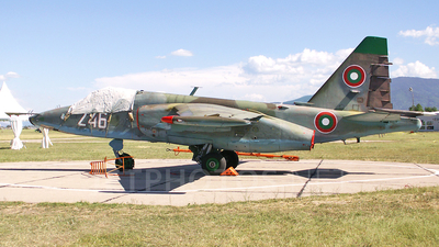 246 - Sukhoi Su-25K Frogfoot - Bulgaria - Air Force