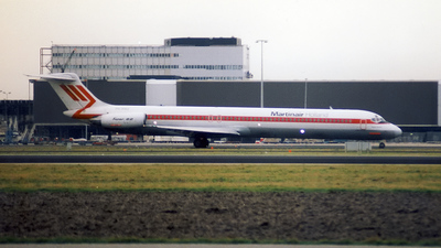 PH-MBZ - McDonnell Douglas MD-82 - Martinair Holland