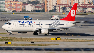 TC-JER - Boeing 737-4Y0 - Turkish Airlines