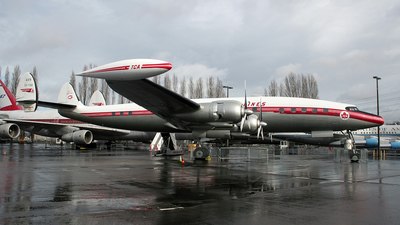 CF-TGE - Lockheed L-1049 Super Constellation - Trans Canada Airlines (TCA)