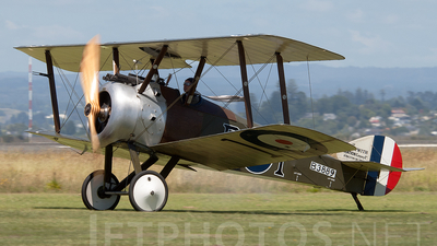 ZK-JMU - Sopwith Camel F.1 - Private