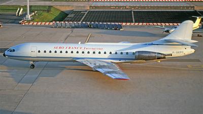 F-GEPC - Sud Aviation SE 210 Caravelle 10B3 - Aero France International
