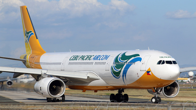 RP-C3342 - Airbus A330-343 - Cebu Pacific Air
