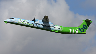 G-JEDP - Bombardier Dash 8-Q402 - Flybe