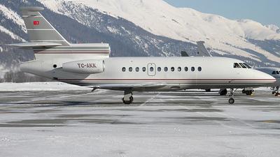 A picture of TCAKK - Dassault Falcon 900B - [171] - © Lutz Lehmann