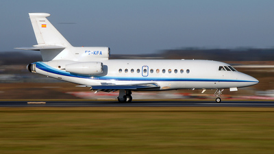 EC-KFA - Dassault Falcon 900B - Corporate Jets XXI