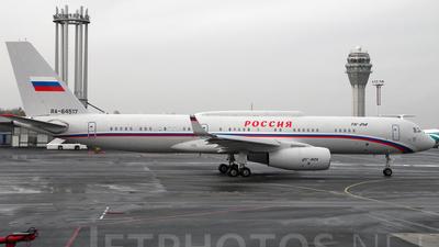 RA-64517 - Tupolev Tu-214SR - Rossiya - Special Flight Squadron