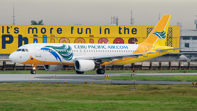 RP-C3242 - Airbus A320-214 - Cebu Pacific Air
