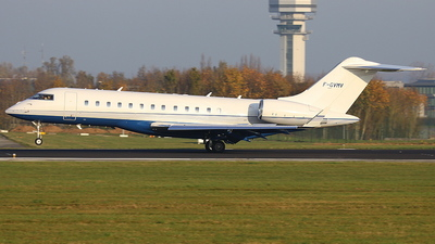 F-GVMV - Bombardier BD-700-1A10 Global Express XRS - Private