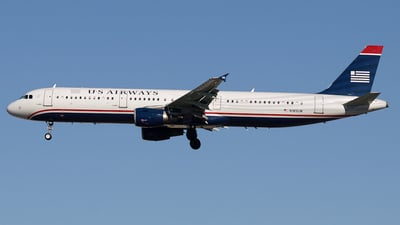 N185UW - Airbus A321-211 - US Airways