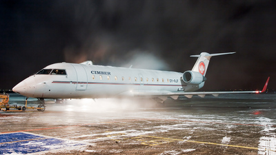 OY-RJF - Bombardier CRJ-100LR - Cimber Sterling Airlines