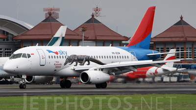 PK-ECM - Sukhoi Superjet 100-95B - Sky Aviation
