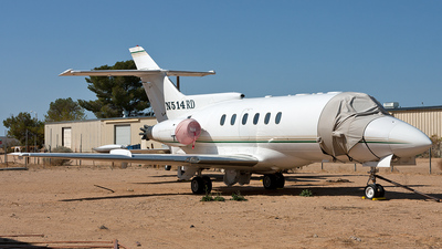 N514RD - Hawker Siddeley HS-125-600B - Private