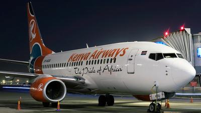 5Y-KQG - Boeing 737-7U8 - Kenya Airways