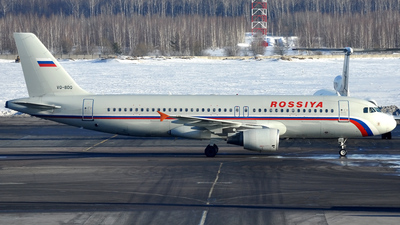 VQ-BDQ - Airbus A320-214 - Rossiya Airlines