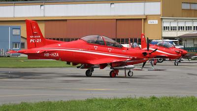 A picture of HBHZA - Pilatus PC21 - Pilatus Flugzeugwerke - © Dominik Burger