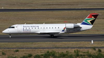 ZS-NMF - Bombardier CRJ-200LR - South African Express