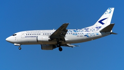 ES-ABO - Boeing 737-505 - Estonian Air