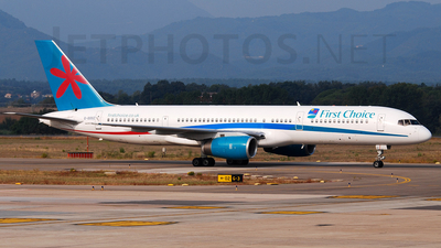 G-OOOZ - Boeing 757-236 - First Choice Airways