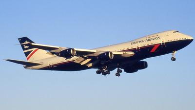 G-BDXE - Boeing 747-236B - British Airways