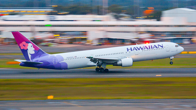 N583HA - Boeing 767-33A(ER) - Hawaiian Airlines