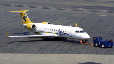 N591ML - Bombardier CRJ-200LR - Midway Airlines