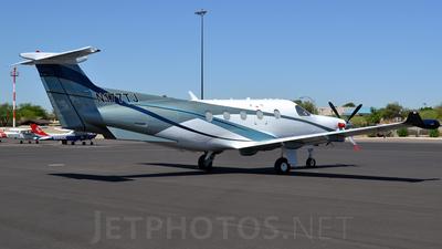 A picture of N177TJ - Pilatus PC12/47E - [1305] - © Justin Lawrence