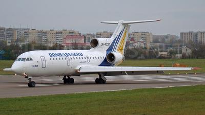 UR-42381 - Yakovlev Yak-42D - Donbassaero
