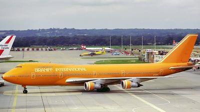 N749WA - Boeing 747-273C - Braniff International Airways