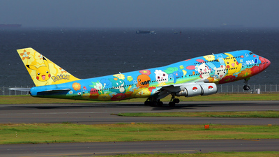 JA8956 - Boeing 747-481D - All Nippon Airways (ANA)