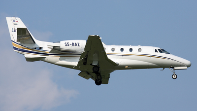 S5-BAZ - Cessna 560XL Citation Excel - Linxair
