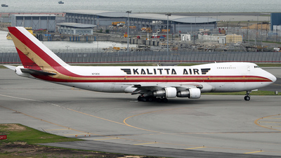 N713CK - Boeing 747-2B4B(SF) - American International Airways (Kalitta)