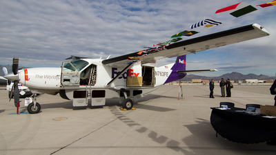 N763FE - Cessna 208B Super Cargomaster - FedEx Feeder (West Air)