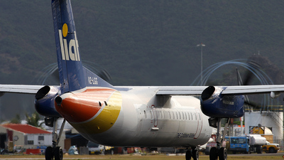 A picture of V2LGG - De Havilland Canada Dash 8300 - [404] - © HA-KLS
