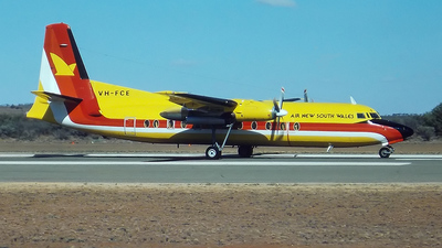 VH-FCE - Fokker F27-500 Friendship - Air New South Wales
