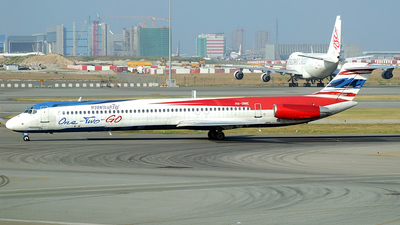 HS-OME - McDonnell Douglas MD-82 - One-Two-GO by Orient Thai