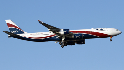 CS-TFX - Airbus A340-542 - Arik Air (HiFly)